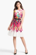 Adrianna Papell Print Fit and Flare Dress, from nordstrom.com