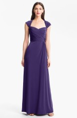 Amsale Back Cutout Gown, from nordstrom.com