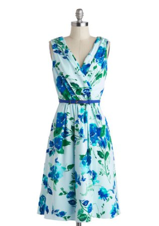Beautiful Blueprints dress, from modcloth.com