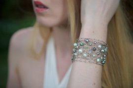 Bracelet, by lapisbeach on etsy.com