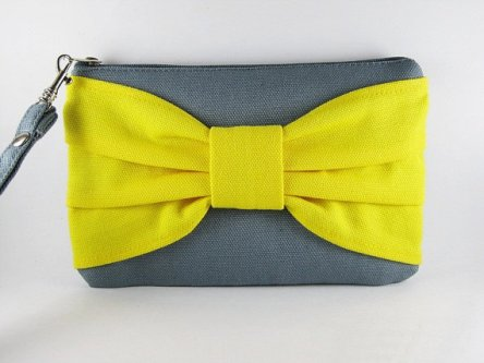 Bridesmaid clutch, by lovelybag on etsy.com