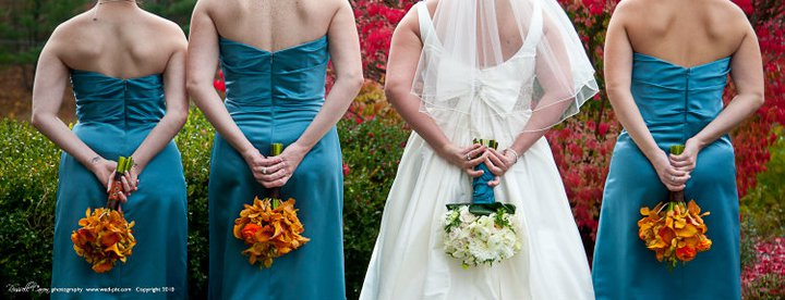 Brown And Teal Wedding Ideas: Teal And Orange Wedding