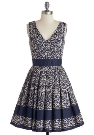 Calligraphy Of The Styled dress, from modcloth.com