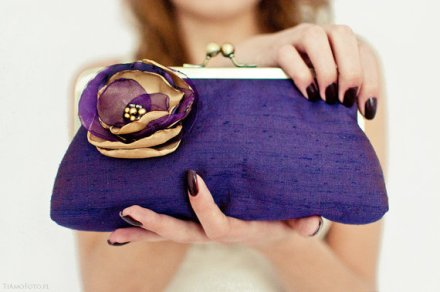 Clutch purse, by AtelierEdytaLoukia on etsy.com