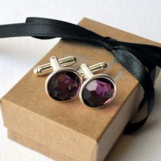 Cufflinks, by SaharaAmaya on etsy.com