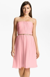 Donna Morgan 'Donna' Belted Chiffon Dress, from nordstrom.com