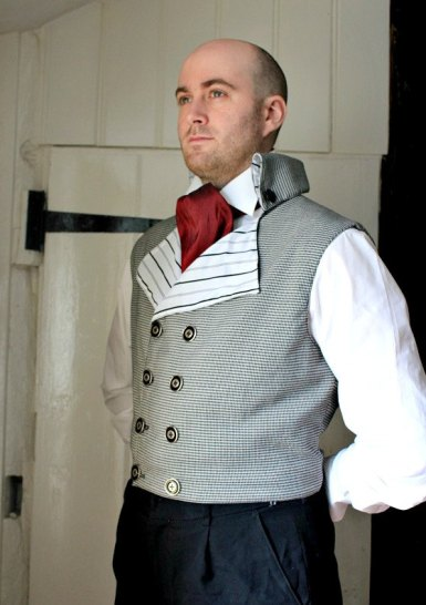 Double-breasted steampunk waistcoat, by dreadnoughtdesigns on etsy.com