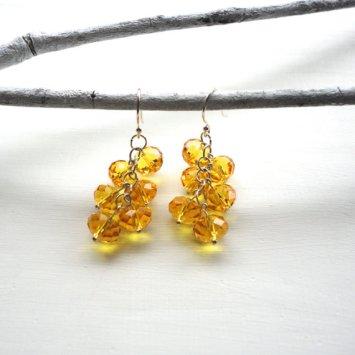 Earrings, by ASimpleKindOfFancy on etsy.com