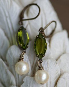 Earrings, by GayaDesigns on etsy.com