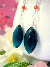 Earrings, by KBlossoms on etsy.com