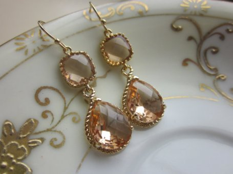 Earrings, by laalee on etsy.com