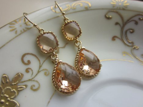 Earrings, by laalee on etsy.com