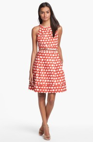 Eliza J Belted A-Line Dress, from nordstrom.com