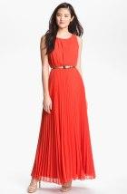Eliza J Pleated Chiffon Maxi Dress, from nordstrom.com