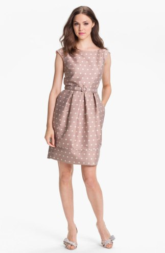 Eliza J Polka Dot Tulip Dress, from nordstrom.com