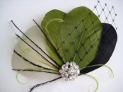 Fascinator, by exquisitecreations2u on etsy.com