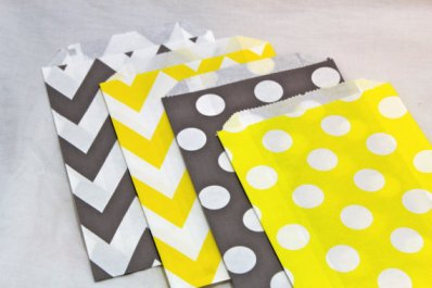 Favour bags, by TheShindiggityShoppe on etsy.com