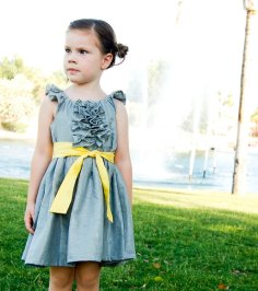 Flower girl dress, by jmarket on etsy.com