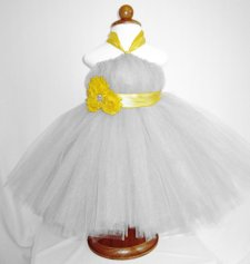 Flower girl tutu, by tinycreations1 on etsy.com