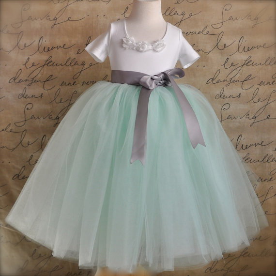 mint and grey wedding the merry bride