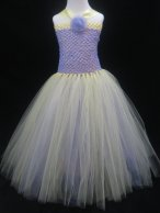 Flower girl tutu dress, by TheDaintyDiva on etsy.com