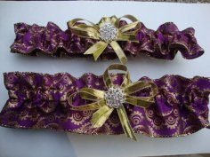 Garters, by StarBridal on etsy.com