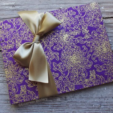 Guest book, by EmersonBindery on etsy.com