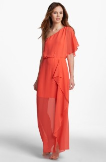 Hailey by Adrianna Papell One Shoulder Chiffon Dress, from nordstrom.com