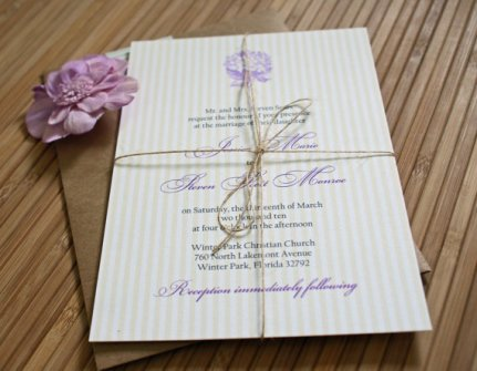Invitation, by TaylorsPaperie on etsy.com