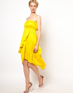 Kore by Sophia Kokosalaki Strapless Tiered Dress, from asos.com
