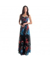 Langhem Lulu floral maxi dress, from swishclothing.com.au