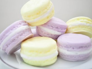 Macaron soap (favour idea), by AubreyEApothecary on etsy.com