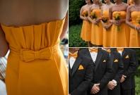 Marigold colour scheme, via strictlyweddings.com