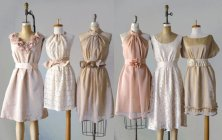 Mismatched bridesmaid dresses, by AtelierSignature on etsy.com