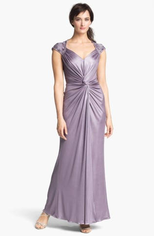Patra Front Twist Jersey Gown, from nordstrom.com