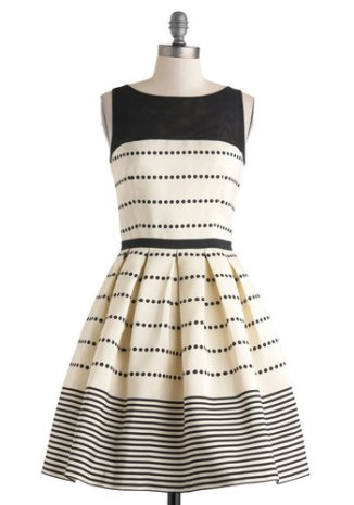 Promoting Elegance dress, from modcloth.com
