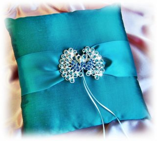 Ring pillow, by All4Brides on etsy.com
