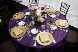 Table setting idea {via weddingbee.com}