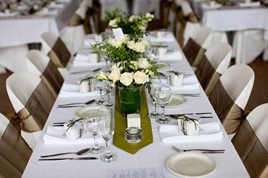 Table Setting Inspiration Wedding Ivory Settings Olive Green Weddings Tables Olives Desks Dresses