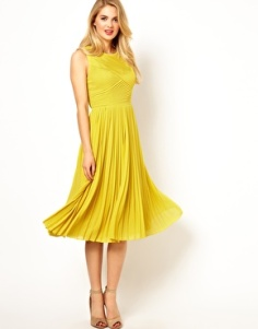 Ted Baker Pleated Midi dress, from asos.com