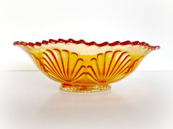 Vintage bowl, by MidwestMilkGlass on etsy.com