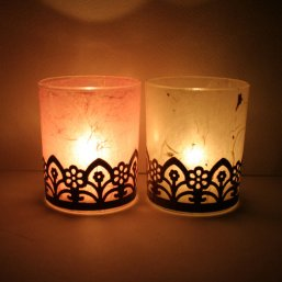 Votives, by illuminera on etsy.com