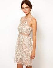 Warehouse Flower Organza dress, from asos.com