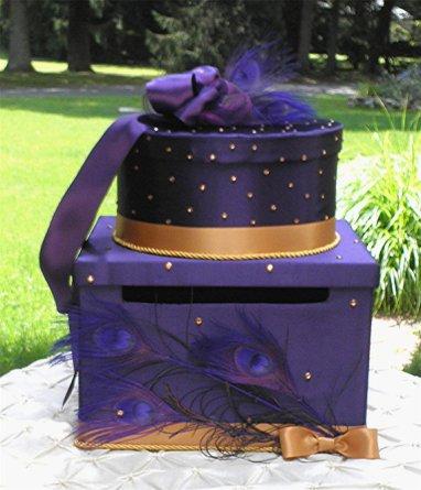 Wedding card box, by WeddingsofDesign on etsy.com