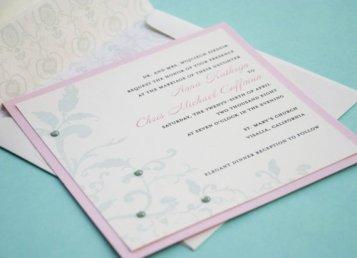Wedding invitation, by beyonddesign on etsy.com