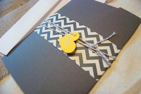 Wedding invitation, by parcelpostwedding on etsy.com