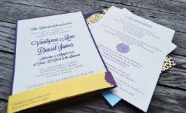 Wedding invitation, by S2StationeryDesign on etsy.com