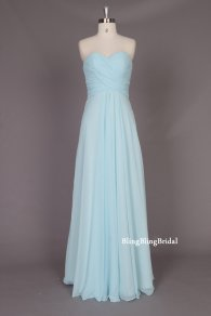 Bridesmaid dress, by blingblingbridal on etsy.com