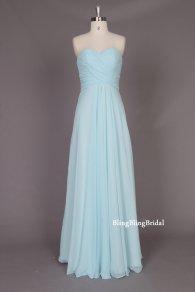 Bridesmaid dress, by blingblingbridal on etsy.com