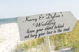 Ceremony sign, by familyattic on etsy.com